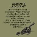 Alison's Alchemy