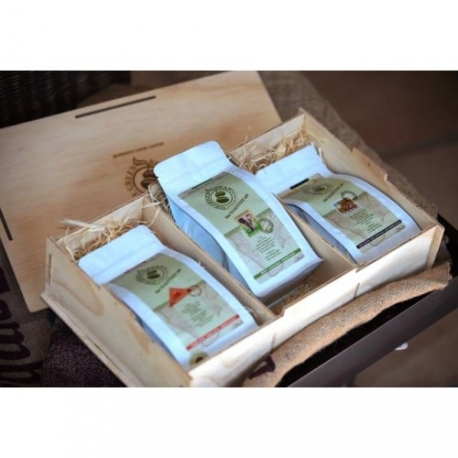 3 Pack - Wooden Gift Box