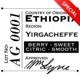 Ethiopia - Yirgacheffe SPECIAL