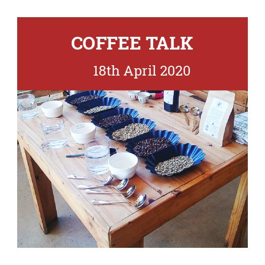 Coffee Talk 18th April