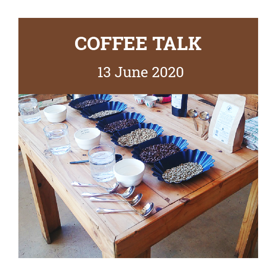 Coffee Talk 13th June
