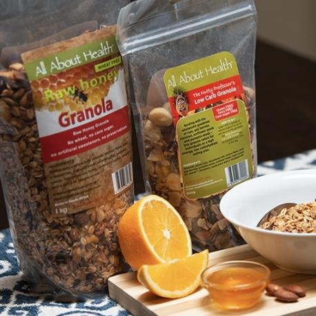 Raw Honey Granola